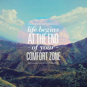 Life Begins At The End Of Your Comfort Zone Funny & Inspirational Photos